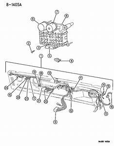 1994 Jeep Wrangler Wiring - Instrument Panel