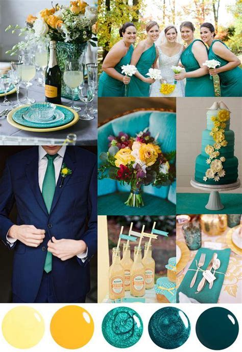 wedding color palette inspiration for 2018 trends we love marrygrams