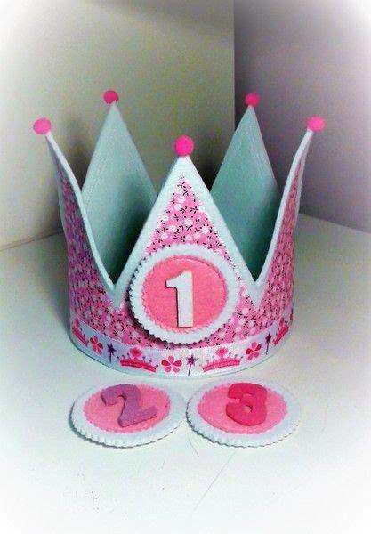 basteln 5 geburtstag mädchen kronen geburtstagskrone ein designerst 252 ck mardecucadas bei dawanda kindergeburtstag