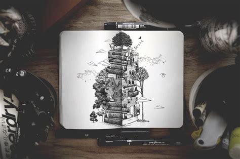 joseph catimbang creates awesome nature inspired illustrations