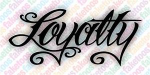 Image Gallery Loyalty Fonts
