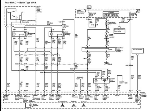 2003 Gmc Wiring Diagram by A 2003 Gmc Envoy Xl With Manual Air And The Front Ac Works