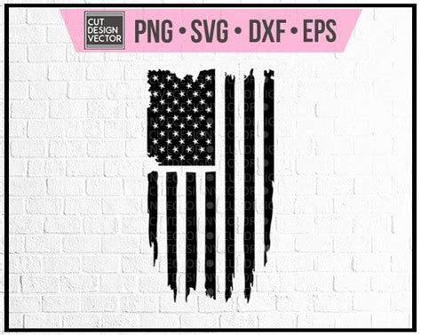 Vector image of a wavy american flag. Pin by Karen Matt on Tumblers   Distressed flag ...