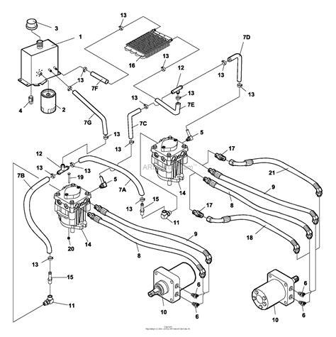 Drive Bobcat 773 Part Diagram by Bunton Bobcat 942220d Zt 219 19hp Kaw W 48 Side