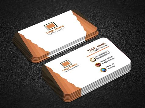 business cards accessible