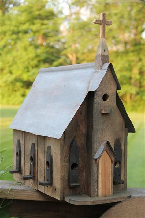 pallet wood birdhouse plans pallet wood projects