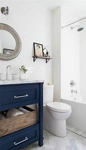 comment amenager une petite salle de bain With salle de bain design avec meuble salle de bain blanc et bois