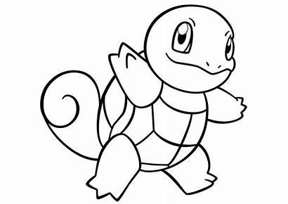 Pokemon Squirtle Desenhos Coloring Imprimir Printable Colorir