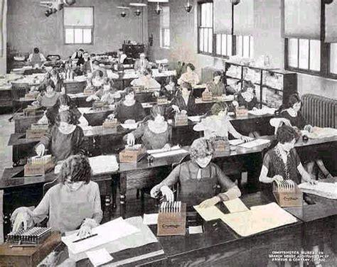 bureau company office photos 1920s