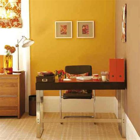 office design ideas bringing optimism  orange color