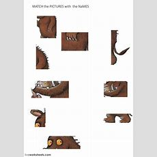 The Gruffalo  Parts Of The Body  Interactive Worksheet