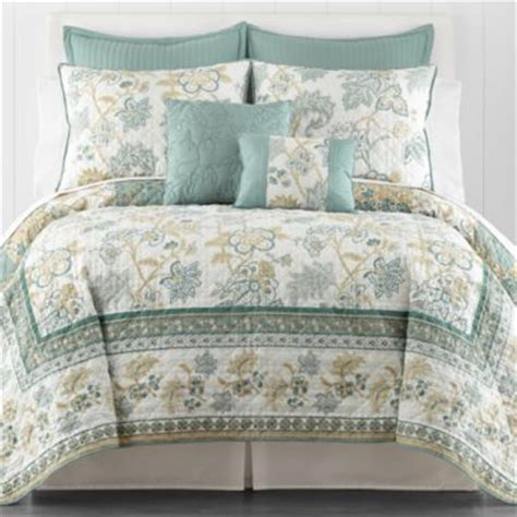 quilts at jcpenney ridgefield jacobean reversible quilt accessories found