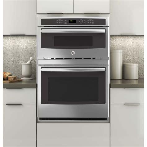 jtshss ge  built  combination microwavethermal wall oven