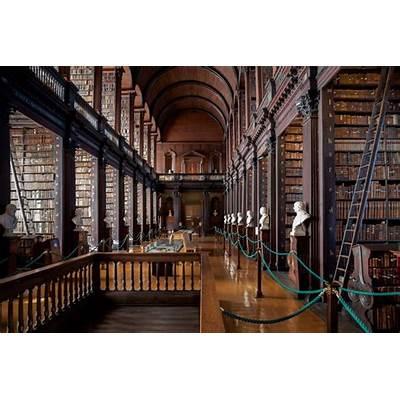 PAVAN MICKEY: The Long Room Library Dublin