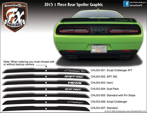 Dodge Challenger Graphics/Stripes/Decals ? streetgrafx