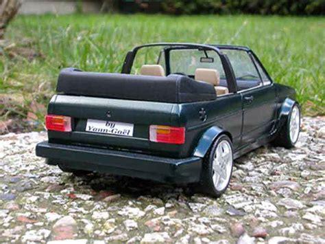 golf 1 cabrio tuning volkswagen golf 1 cabriolet miniature voiture miniature