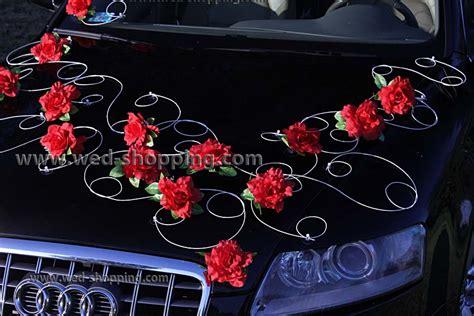 bourgogne roses avec des ventouses d 233 coration de voiture balai