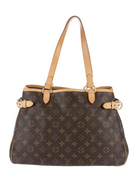 louis vuitton monogram batignolles horizontal bag handbags lou  realreal