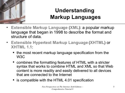extensible markup language tutorial tutorial 08 creating effective web pages