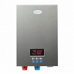 Durchlauferhitzer 220 Volt : marey 220 volt self modulating 18 kw 4 4 gpm multiple points of use tankless electric water ~ Eleganceandgraceweddings.com Haus und Dekorationen