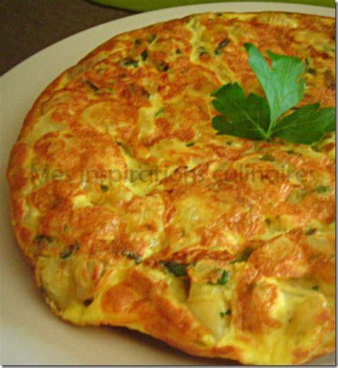 poele cuisine saine tortilla aux courgettes pommes de terre le