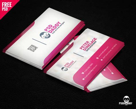 classic business card template psd psddaddycom