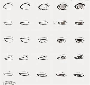 Anime Drawings In Pencil Easy Eyes How To Draw An Anime ...