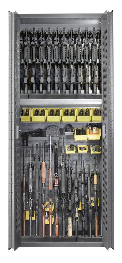 secureit tactical model   rifle  handgun storage cabinet  bins sec
