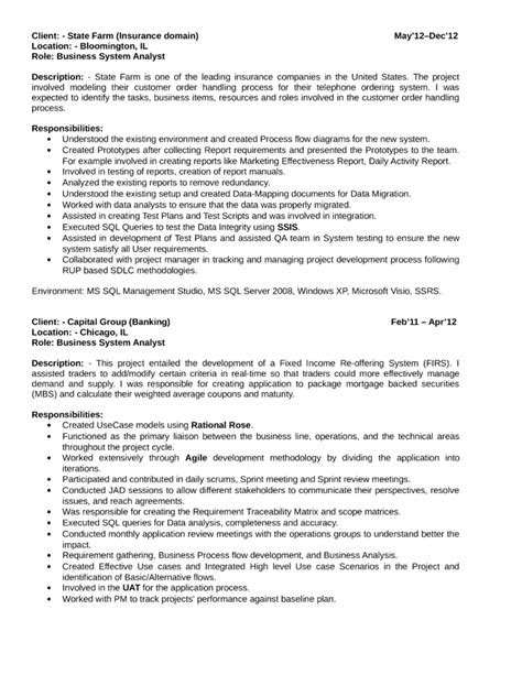 best quantitative analyst resume template page 3