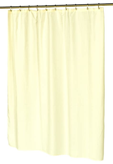quot waffle weave quot polyester curtain in ivory contemporary