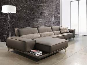 Mokambo leather sectional sofa gamma international italy for Gamma leather sectional sofa