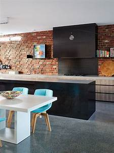 69 cool interiors with exposed brick walls digsdigs With interior design kitchen splashbacks
