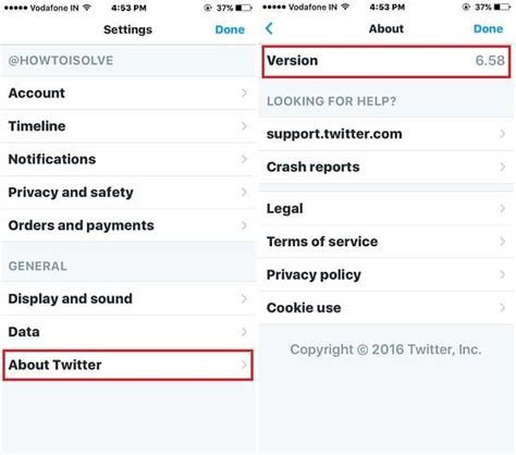 how to check iphone version how to check app version on iphone installed