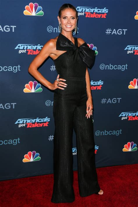 Heidi Klum Nbc America Got Talent Season Live