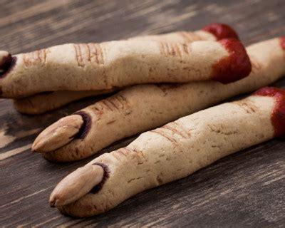 recette doigts de sorciere  croquer pour halloween
