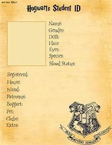 Hogwarts Student ID base by HarryPotterAddict on DeviantArt