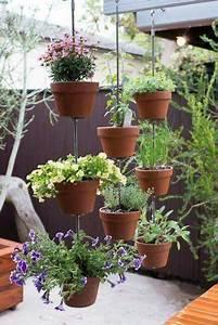 Vertikaler Garten Balkon : t pfe auf h ngen balkon pinterest garten ideen garten und garten deko ~ Frokenaadalensverden.com Haus und Dekorationen