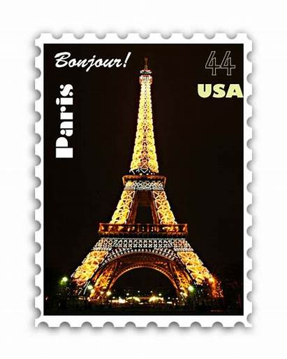 Stamp Paris Projects Abbey Computer Graphic
