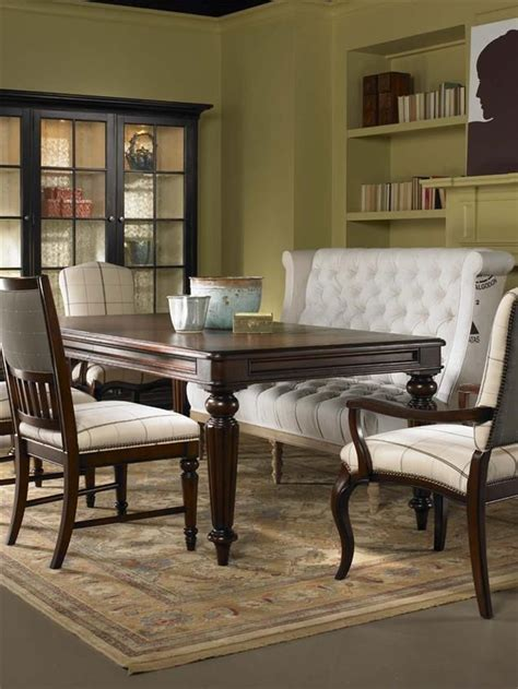 dining table  upholstered bench google search