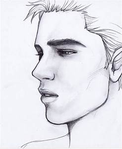 Drawing Boys With A Pencil Handsome Boy Sketches In Pencil ...