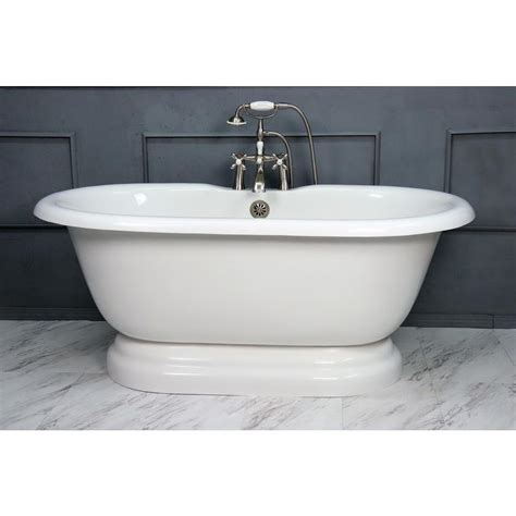 Factory Tubs by American Bath Factory 60 In Acrastone Acrylic
