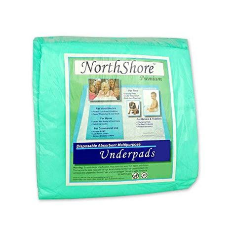 northshore premium 24 8 oz blue disposable underpads chux small 25 personal