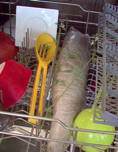 cuisiner au lave vaisselle et si on cuisait le saumon au lave vaisselle à table