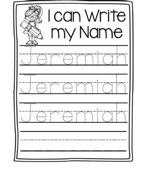 name writing practice name trace paper editable by 434 | original 2750185 2