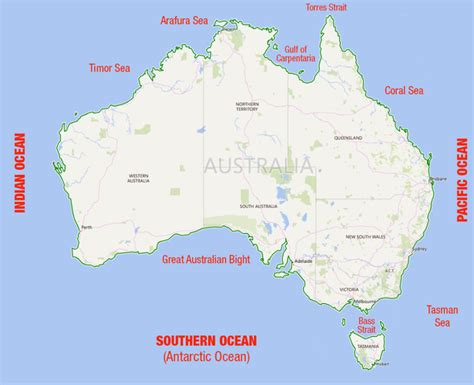 What Are The Oceans Surrounding Australia? Quora