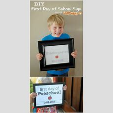 How To Make Diy First Day Of School Signs Using Picmonkey