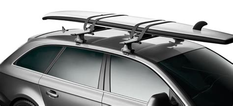 thule  shuttle stand  paddleboard carrier  tie