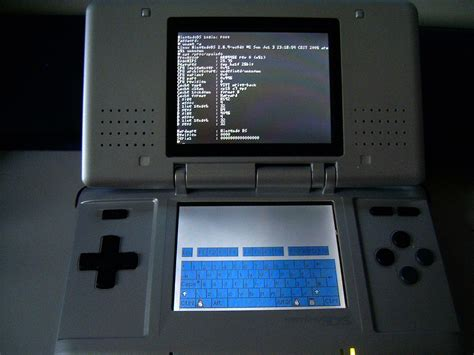 Linux For The Nintendo Ds
