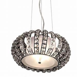 Hängeleuchte 3 Flammig : s luce h ngeleuchte mit glaskristallen crest 3 flammig 40 chrom online kaufen otto ~ Whattoseeinmadrid.com Haus und Dekorationen