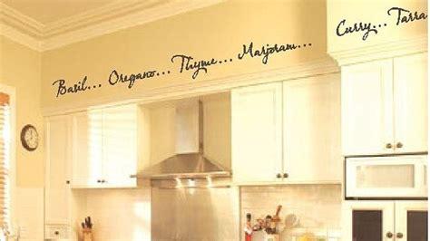 Kitchen Borders Ideas - kitchen words spices wall border soffit border vinyl wall decor decal item kd115 1 set